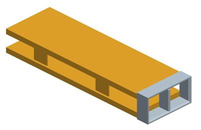 MODEL&CO, fabricante de trépano rectangular, utillajes para equipos de muro pantalla para cimentaciones especiales
