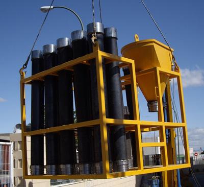 MODEL&CO, fabricante de tubería y tubos Tremie, utillajes para equipos de muro pantalla para cimentaciones especiales