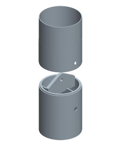 MODEL&CO, fabricante de juntas redondas con bulón central, utillajes para equipos de muro pantalla para cimentaciones especiales