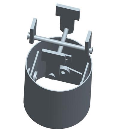 MODEL&CO, fabricante de juntas redondas con doble bulón central, utillajes para equipos de muro pantalla para cimentaciones especiales