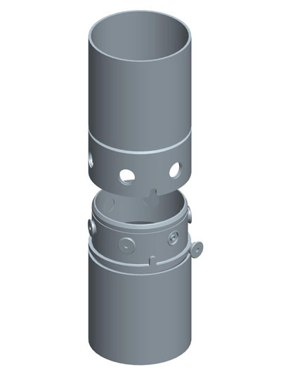 MODEL&CO, fabricante de juntas redondas con tornillos perimetrales, utillajes para equipos de muro pantalla para cimentaciones especiales