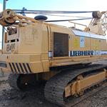 Grúa excavadora sobre orugas de segunda mano Liebherr HS841HD con elevado tiro directo de cabestrante