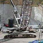 Grúa sobre orugas Liebherr HS895HD de segunda mano con capacidad de carga de más de 100 toneladas