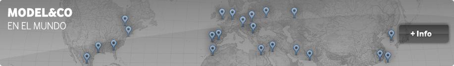 MODEL&CO en el mundo. Venta y alquiler de maquinaria de cimentaciones especiales en todo el mundo