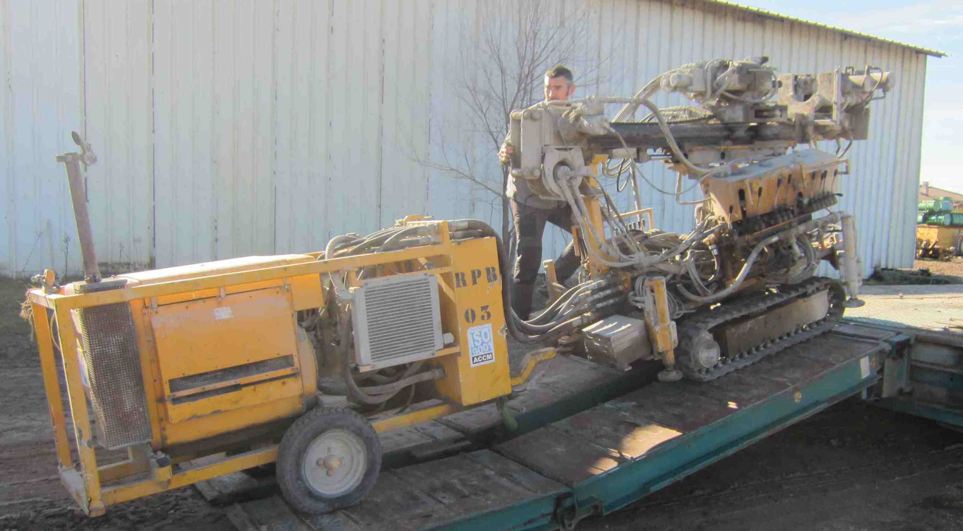Used BERETTA T43 (2006) for rent and sale. used anchoring and micropiling machines for rent or sale
