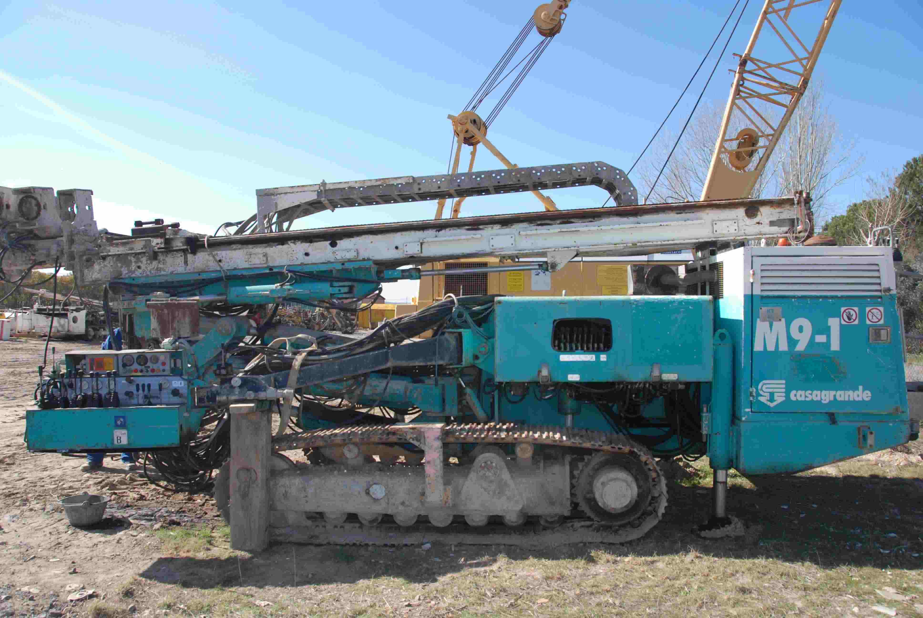 Used CASAGRANDE M9-1 (2001) for rent and sale. used anchoring and micropiling machines for rent or sale
