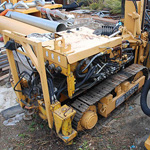 Used Klemm MR701 crawler drill machine. Used anchoring and micropiling machines equipment