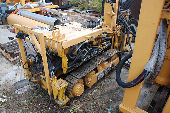 Second hand Klemm MR701 crawler drill machine. Used anchoring and micropiling machines equipment