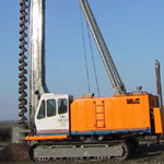 Used MODEL&CO BF10 CFA. Used engineering foundation equipment for piling, piles or micropiling rigs