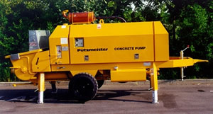 Used Putzmeister BSA for rent and sale. Used concrete pumps for CFA rigs for rent or sale
