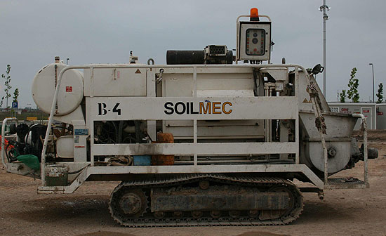 Second hand Soilmec Mecbo P6.80 pump for concrete. Used engineering foundation equipment worldwide