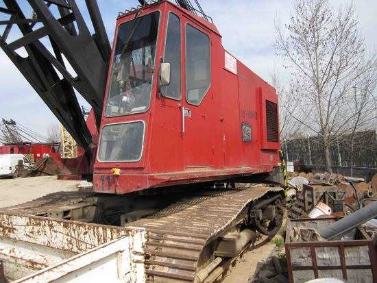 Used LINK-BELT LS 108 HD, 48 ton for rent and sale