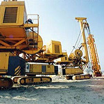 Used Bauer Hydromill. Used diaphragm wall engineering foundation equipment for