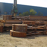 Used MODEL&CO CMX, CMS, CMSP and CMP mechanical Grabs. Used diaphragm wall engineering foundation equipment for