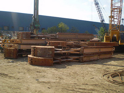 Second hand diaphragm wall MODEL&CO CMX, CMS, CMSP and CMP mechanical Grabs foundation engineering equipment