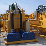 Used MODEL&CO mud desanders. Used diaphragm wall engineering foundation equipment for