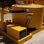 Used MODEL&CO mud mixers. Used diaphragm wall engineering foundation equipment for