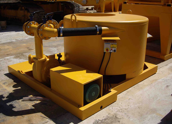 Second hand diaphragm wall MODEL&CO mud mixers foundation engineering equipment