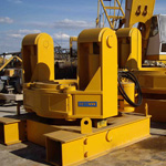 Used MODEL&CO stop-end pipe extractors. Used diaphragm wall engineering foundation equipment for