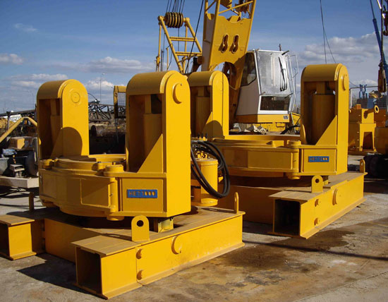 Second hand diaphragm wall MODEL&CO stop-end pipe extractors foundation engineering equipment