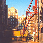Used NCB Hydraulic Grab. Used diaphragm wall engineering foundation equipment for