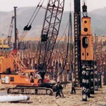Used Pilemer Hydraulic Hammer. Used driving precast concrete piles engineering foundation equipment for