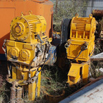Used TOMEN VM2-5000 (Vibratory hammer) driving precast concrete piles engineering foundation equipment for
