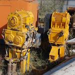 Used TOMEN VM2-5000 (Vibratory hammer) driving precast concrete piles engineering foundation equipment for