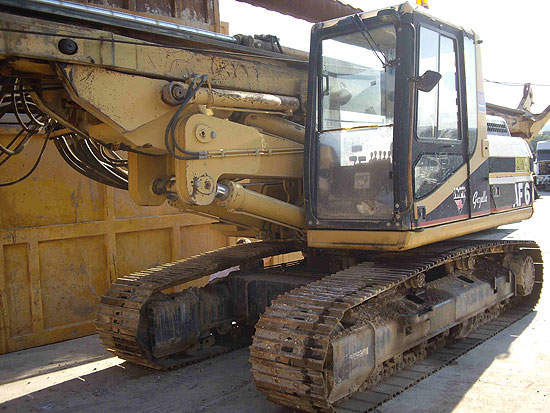 Second hand IMT AF6 pile rig machine. Used engineering foundation equipment for piling rigs for large diameter boring