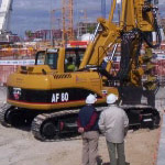 Used IMT AF80 pile rig machine. Used engineering foundation equipment for piling rigs for large diameter boring