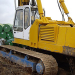 Used Klemm GH75 H pile rig machine. Used engineering foundation equipment for piling rigs for large diameter boring