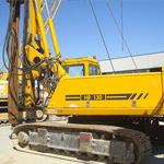 Used MAIT HR130 pile rig machine. Used engineering foundation equipment for piling rigs for large diameter boring